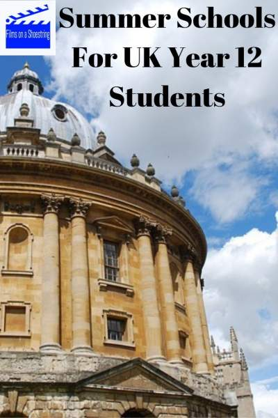 Summer Schools for UK Year 12 Students