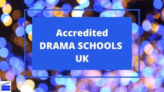 accredited drama schools UK