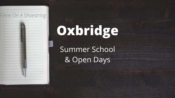 Oxbridge Summer course open days masterclasses