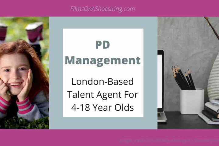 PD Management London Talent Agency for kids