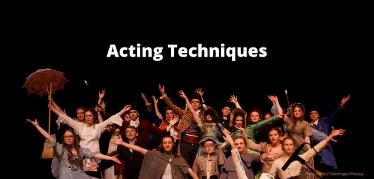 list of acting techniques