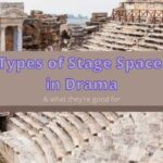 Types of stage space in drama and theatre